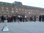 30 avril: Cercle de silence à Strasbourg avec le frère Alain Richard