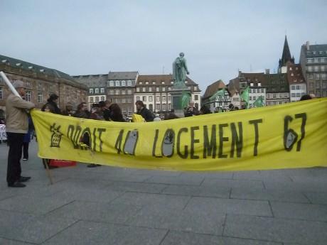 Droit au logement à Strasbourg