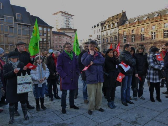 Strasbourg/Tunisie feuille2chouphoto
