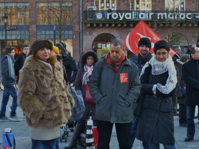 Chokri Belaid Tunisie/Strasbourg solidarité