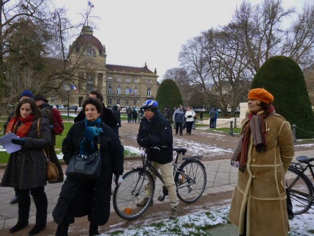 commémoration 14 février 1349 Strasbourg feuille2chouphoto