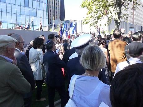 Une allée des Justes a été inaugurée le 22 juillet à Strasbourg