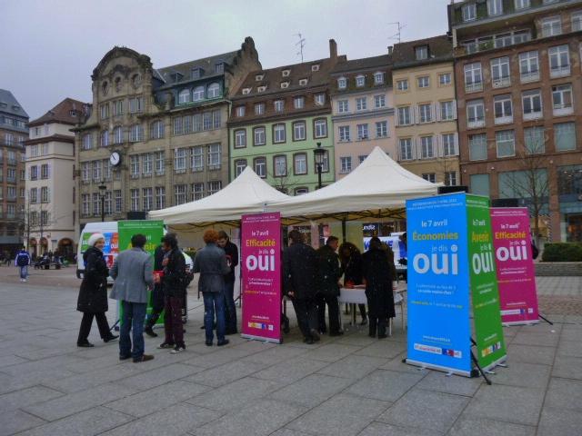 Oui au référendum pour les uns, oui à la fermeture de Fessenheim pour les autres
