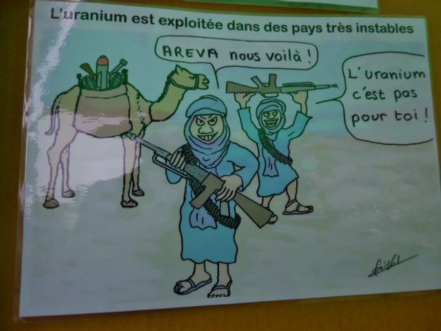 guerre au Mali pour l'uranium du Niger feuille2chouphoto