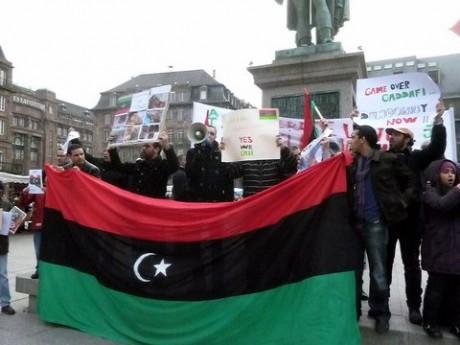 Solidarité avec le peuple libyen à Strasbourg