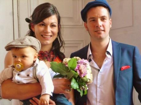 Marie et Germain se marient