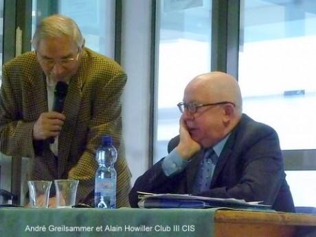 CIS Club III Alain Howiller ex-directeur des DNA, sur l'Alsace.