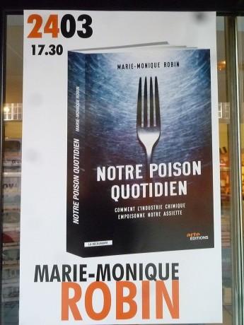 """""""Notre poison quotidien"""", par Marie-Monique Robin: le livre, le film (Arte)"""