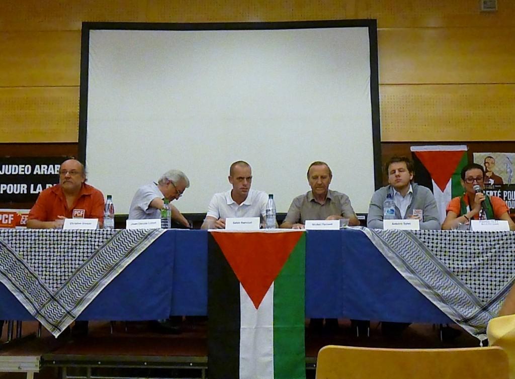 Salah Hamouri était à Strasbourg les 10 et 11 septembre 2012