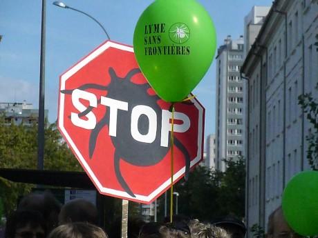 Manifestation mondiale contre la maladie de Lyme