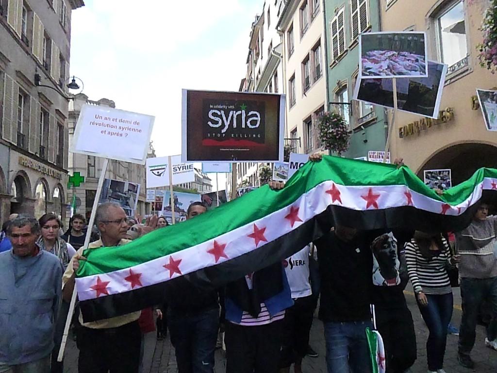 A gerber: les amis de Bachar El Assad
