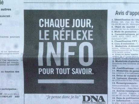 Un loupé des DNA et une publicité mensongère…