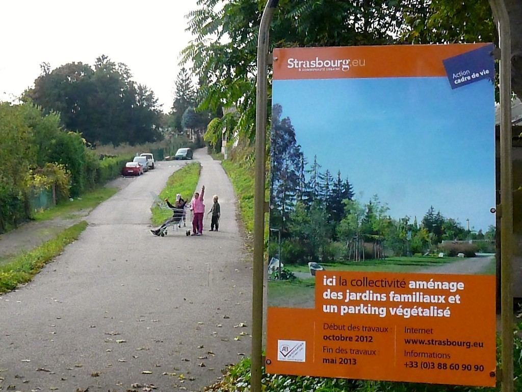 Un des quatre campements menacé d'évacuation à Strasbourg