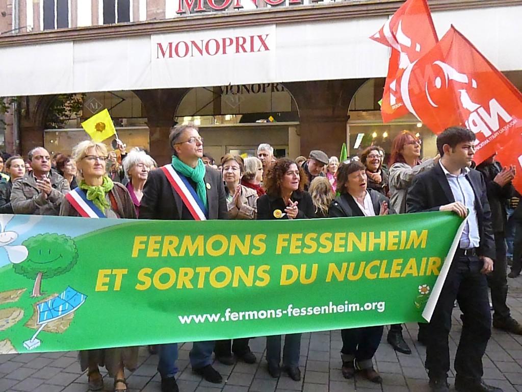 Fermons Fessenheim, sortons du nucléaire et… boycott du fooot en Israël