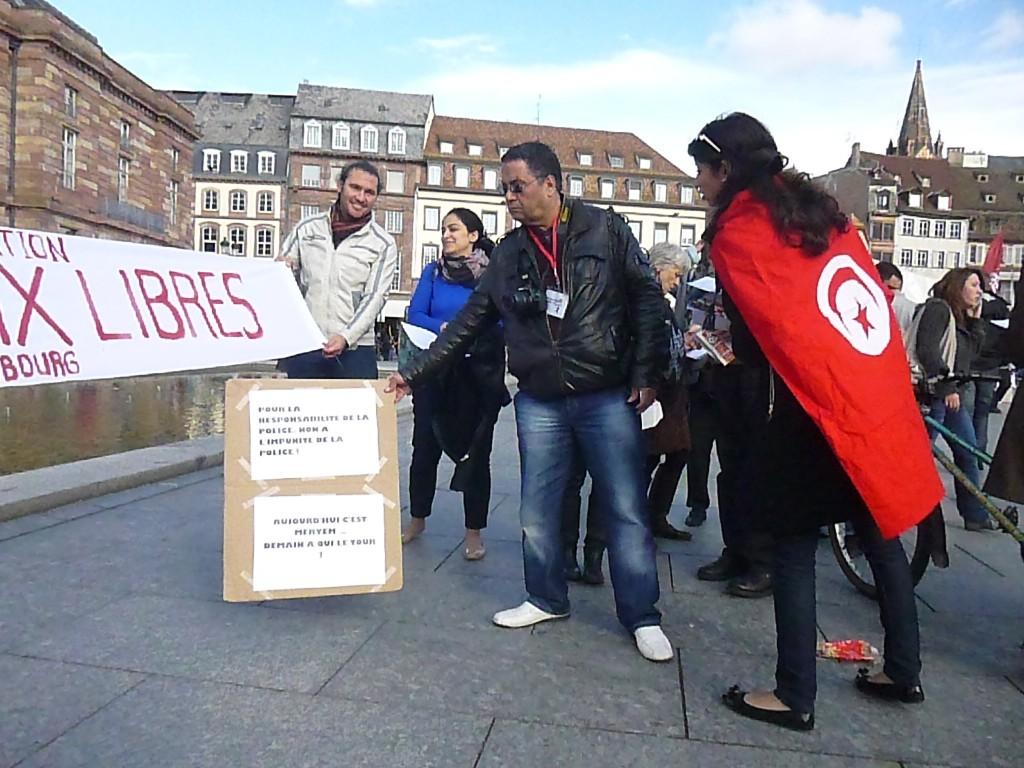 Tunisie-Strasbourg: Les voix libres, pour Meryem et les droits des femmes