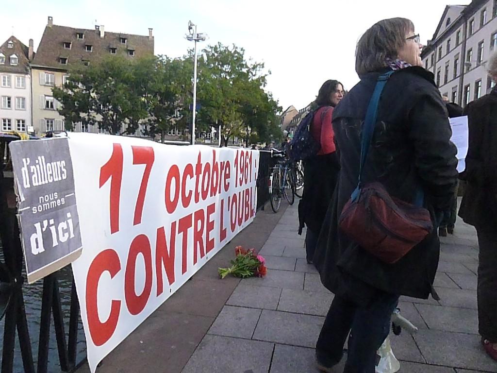 Strasbourg: 17 octobre 1961-17 octobre 2012 contre l'oubli