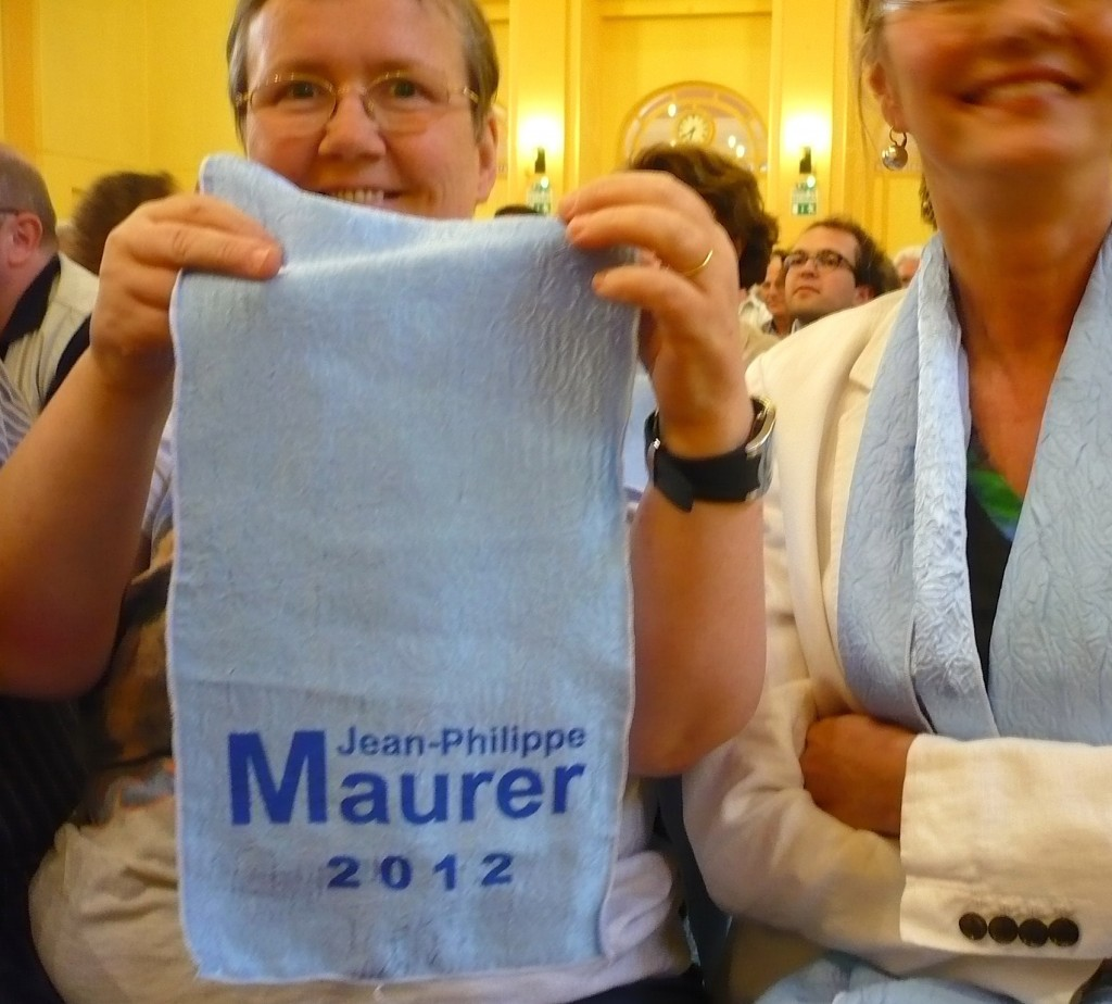 1+1 député socialiste à Strasbourg