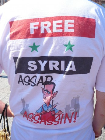 Soutien à la Syrie assa(d)ssinée