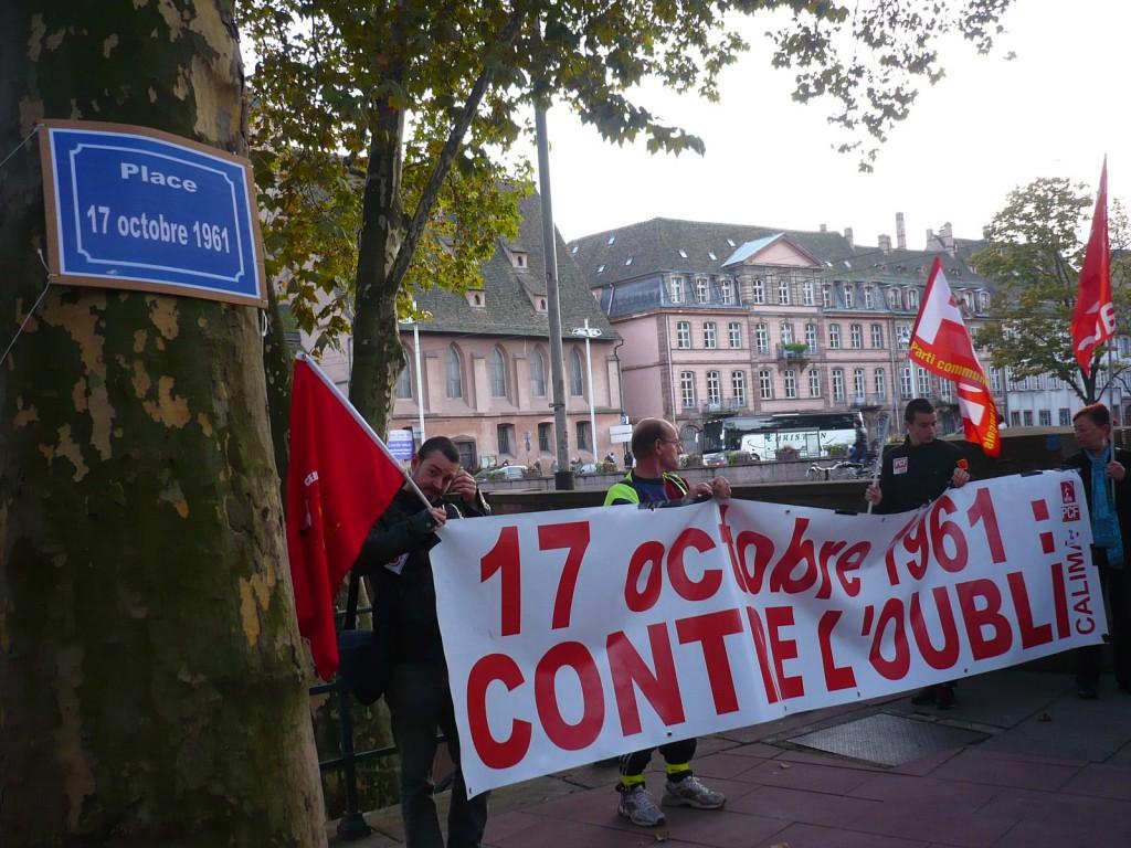 Vote d'une «Place du 17 octobre 1961» à Strasbourg