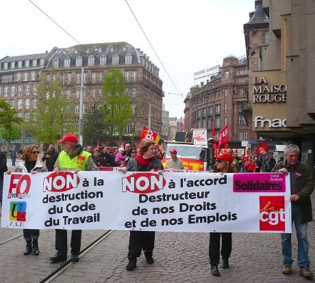 1er mai 2013 à Strasbourg: diaporama et vidéos
