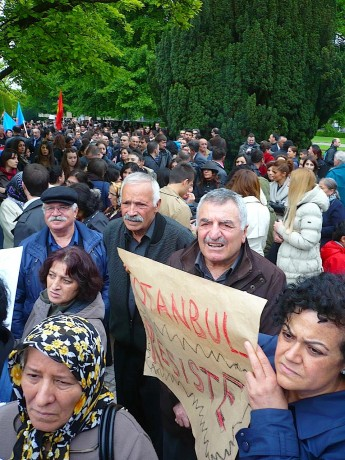 Strasbourg solidaire du peuple turc révolté