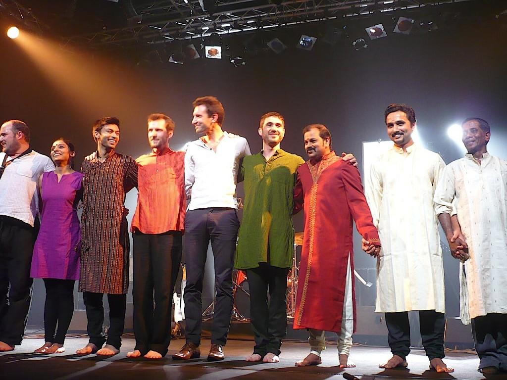 Ozma et Darpana: quand le jazz rencontre la musique traditionnelle de l'Inde