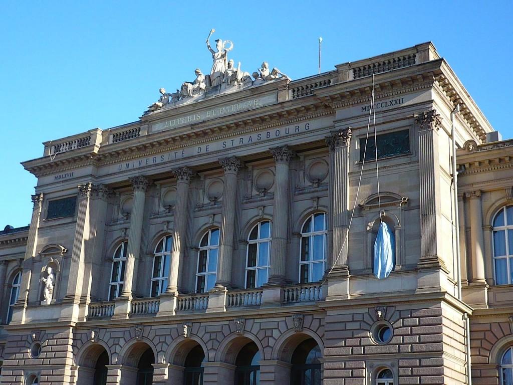 Une femme en burqa a été vue au palais universitaire de Strasbourg !
