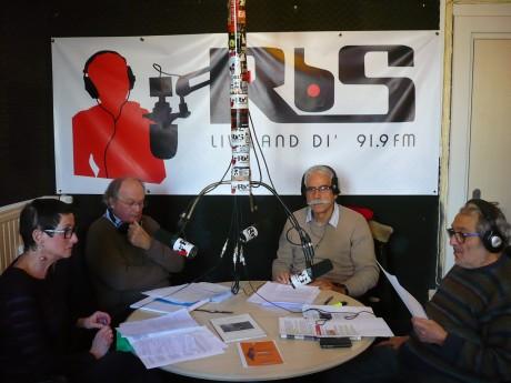 Les réfugiés, sur Radio Bienvenue Strasbourg