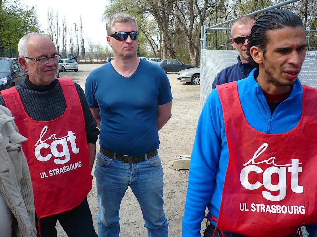Senerval et Data Mailing en grève à Strasbourg