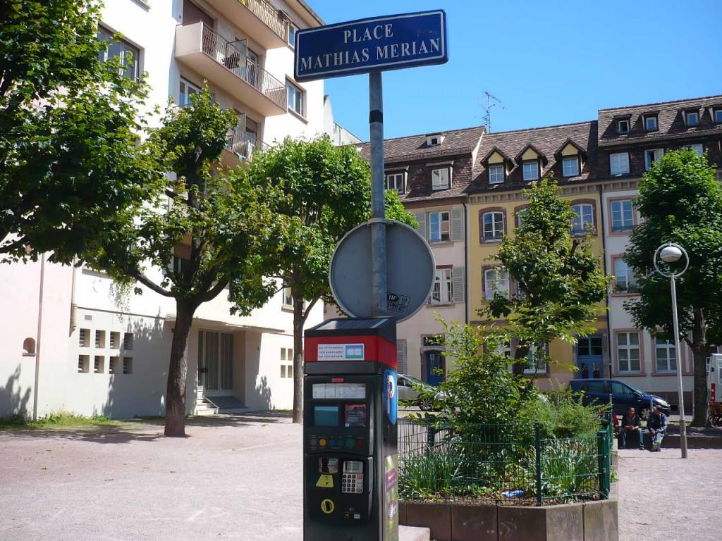 Strasbourg : La place Mathias Merian a été sacrifiée
