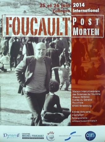 Foucault post-mortem – Colloque à la MISHA de Strasbourg, 25-26 juin