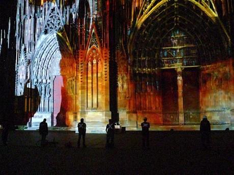 7e nuit d'action des interluttants de Strasbourg