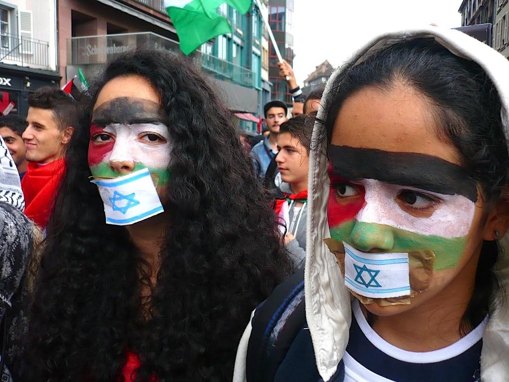 Strasbourg: 2500 manifestants pour Gaza et la Palestine