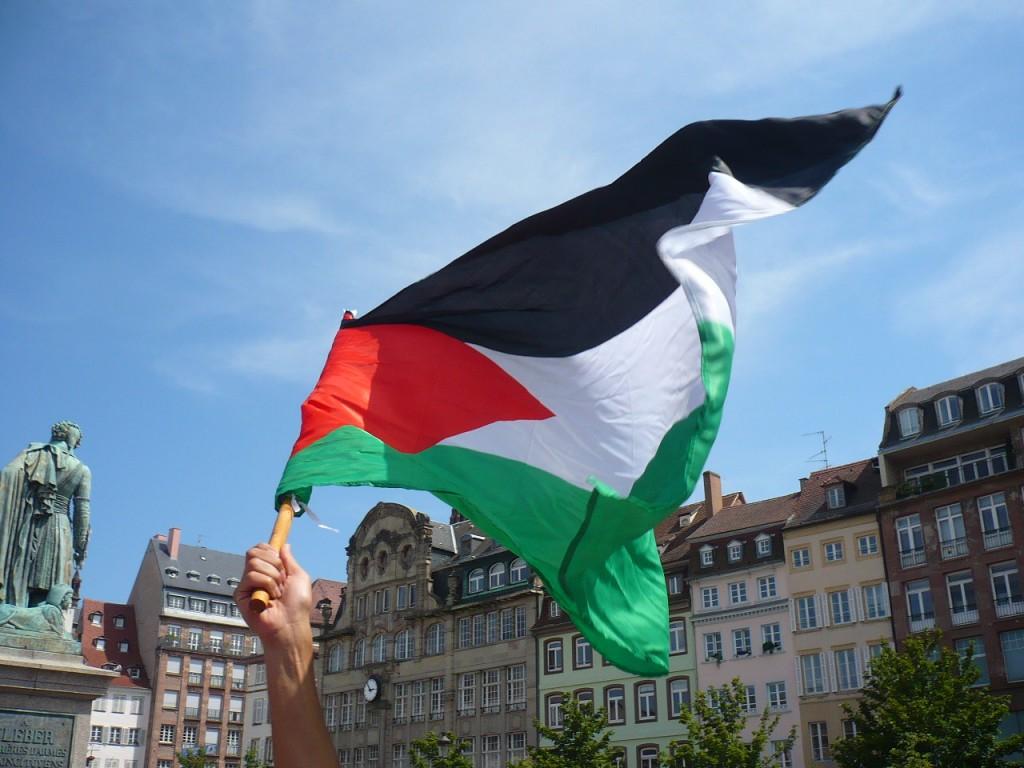 Manifestation de solidarité avec le peuple palestinien