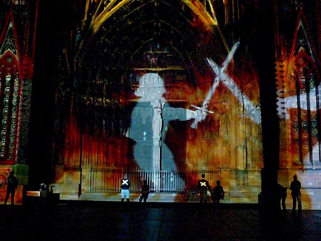 18e nuit de résistance des interluttants de Strasbourg