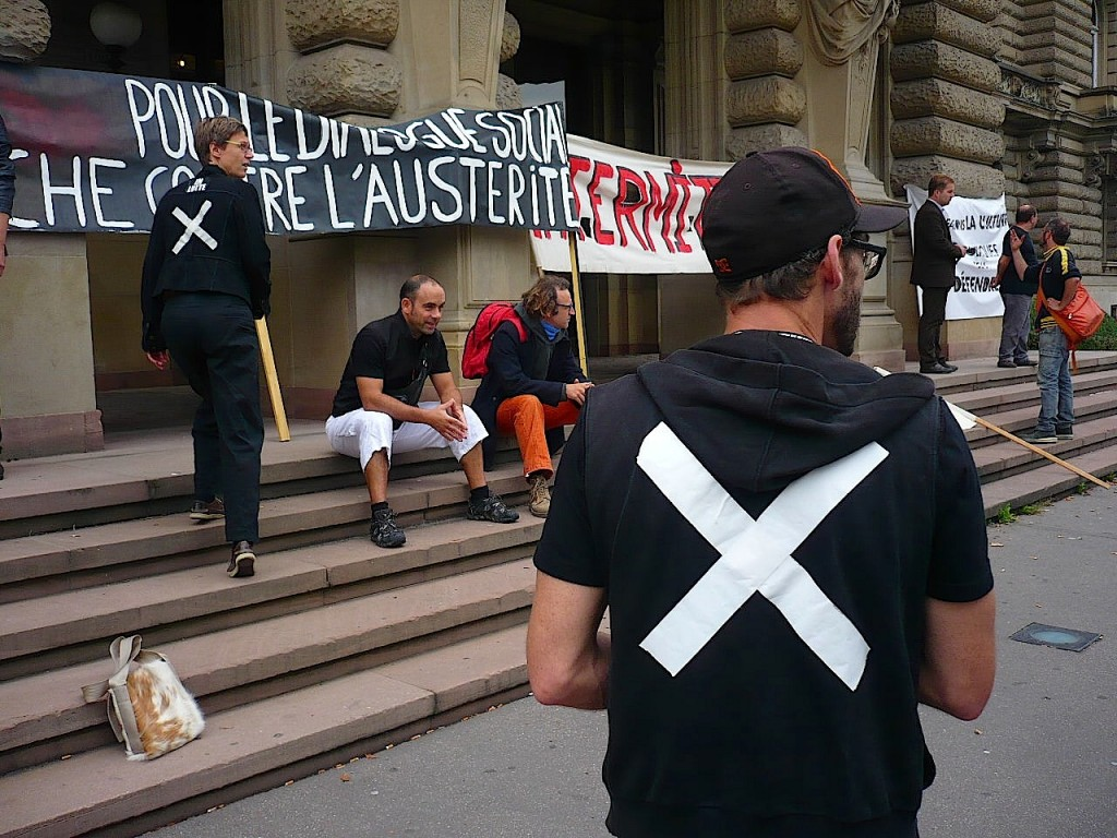 Rentrée des interluttants de Strasbourg