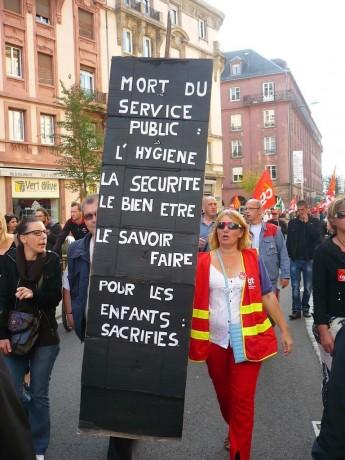 Strasbourg, rien de va plus à la Direction de l'Enfance et de l'Education