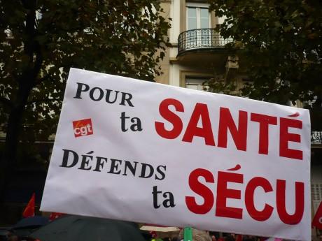 Journée de défense de la Sécurité sociale : Armand Jung, député du Bas-Rhin dit être d'accord avec les revendications des salariés de la CUS