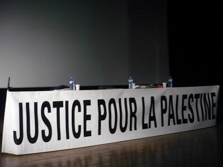 8 HEURES POUR LA PALESTINE, à Belfort, avec Julien Salingue (ACRIMED) et Jean-Claude Meyer (UJFP/IJAN)
