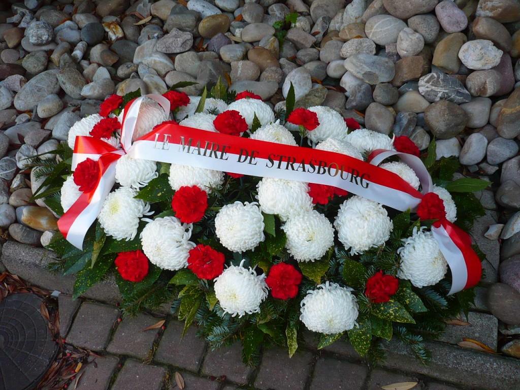 Commémorations des Morts de la rue à Strasbourg