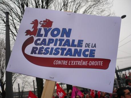 Lyon contre le FN, le racisme d'État et les violences policières