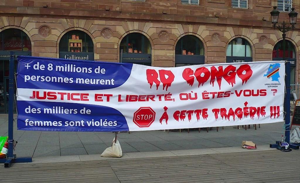 Justice et liberté au Congo !