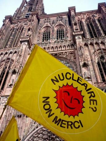 Manifestation pour la fermeture immédiate de Fessenheim