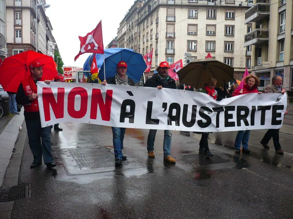 1er mai 2015 à Strasbourg