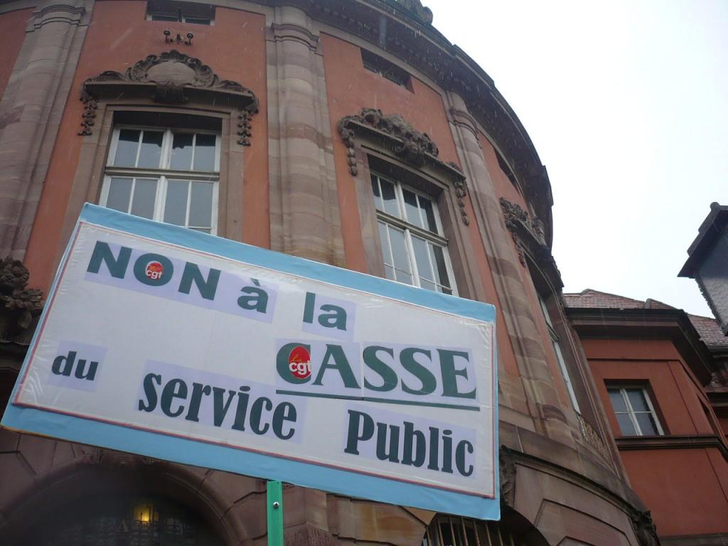 La CGT se mouille pour sauver les Bains municipaux de la privatisation