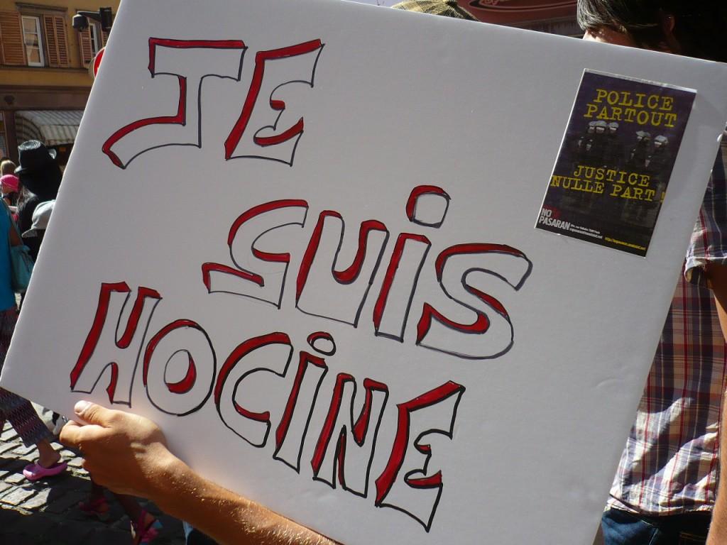 Marche blanche pour Hocine Bouras à Colmar