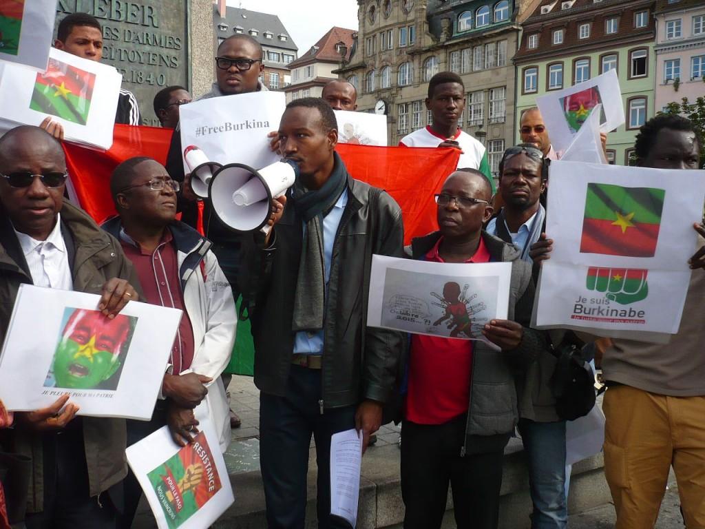Les Burkinabè de Strasbourg dénoncent le coup d'État militaire au Burkina Faso