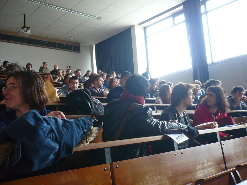 Étudiants et personnels de l'Université de Strasbourg en lutte