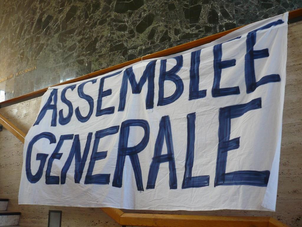 Manifestation à Strasbourg contre la loi El Khomri