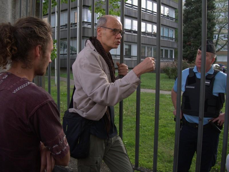 Liberté pour les zadistes en GAV à la Gendarmerie nationale de Strasbourg!